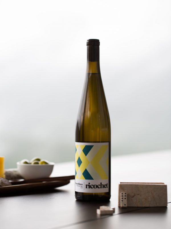 ricochet wine pinot blanc oregon wine